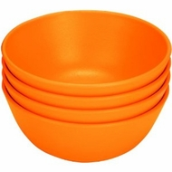 Green Eats 4 Pack Snack Bowl, Yellow - click to enlarge