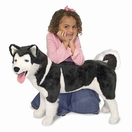 Melissa and Doug #2111: Husky Plush - click to enlarge