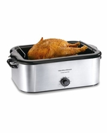 Hamilton Beach 32229 Stainless Steel Roaster Oven - click to enlarge
