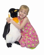 Melissa and Doug #2122 Plush Penguin - click to enlarge