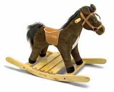 Melissa and Doug #2137 Rock and Trot Plush Rocking Horse - click to enlarge