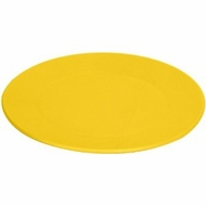 Green Eats 4 Pack Snack Plate, Yellow - click to enlarge