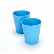 Green Eats 2 Pack Tumblers, Blue - click to enlarge