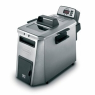Delonghi SS Digital Dual Zone w/ Oil Drain - click to enlarge