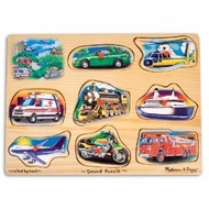Melissa and Doug Vehicle Sound Puzzle - click to enlarge