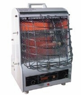TPI Corporation 198TMC Fan Forced Portable Heater Radiant 120 Volt - click to enlarge
