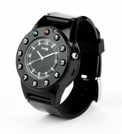 Burg Watch Phone - Midnight Black Band - click to enlarge