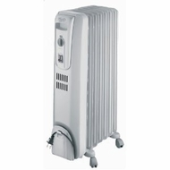 Delonghi Basic Oil Filled Radiator w/ Safety Feature - click to enlarge