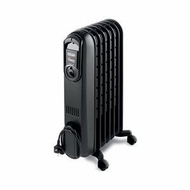 Delonghi Vento Oil Filled Radiator in Black - click to enlarge