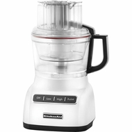 KitchenAid KFP1333WH 13-cup Food Processor, White - click to enlarge