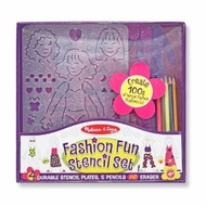 Melissa and Doug #4222 Fashion Stencil Set - click to enlarge