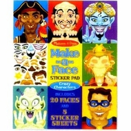 Melissa and Doug Make-a-Face Crazy Characters Sticker Pad - click to enlarge