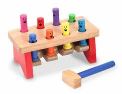 Melissa and Doug Deluxe Pounding Bench - click to enlarge