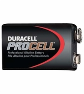 Duracell Procell Professional 9volt Alkaline Batteries, 12-Count - click to enlarge