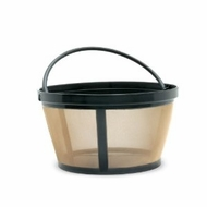 Fresco KF-10T Goldtone Basket Shaped Coffee Filter - click to enlarge
