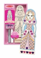Melissa and Doug Create a Craft Party Favors : Princess Doll - click to enlarge