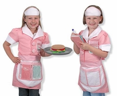Melissa and Doug Waitress Role Play Costume Set #4787 - click to enlarge