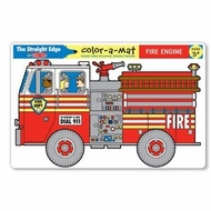 Melissa and Doug Fire Engine Color-A-Mat - click to enlarge