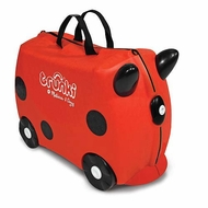 Melissa and Doug Ride-On Traveling Luggage Trunki : Ruby (Red) - click to enlarge
