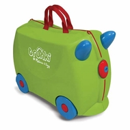 Melissa and Doug Ride-On Traveling Luggage Trunki : Jade (Green) - click to enlarge