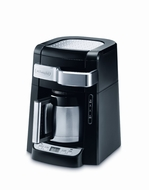 DeLonghi DCF2210TTC 10-Cup Thermal Carafe Drip Coffee Maker, Black - click to enlarge