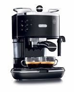 DeLonghi ECO310BK 15 Bar Pump Espresso Machine, Piano Black - click to enlarge