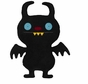 Little Uglys Ninja Batty Shogun from Ugly Doll