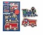 Melissa and Doug Create a Craft Party Favors : Wooden Vehicles Magnets