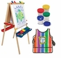 Melissa and Doug Easel, Smock & Paint Cup