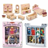 Melissa & Doug Deluxe Wooden Princess Castle Accessory Set - click to enlarge