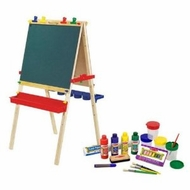 Melissa and Doug Standing Art Easel & Companion Accessory Set - click to enlarge