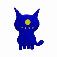UglyDoll Uglydog Classic Plush, Blue - click to enlarge