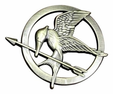 The Hunger Games Movie Mockingjay Prop Rep Pin - click to enlarge