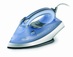 DeLonghi DELFXN18AG 1800-Watt Steam Iron with Ceramic and Titanium Soleplate - click to enlarge