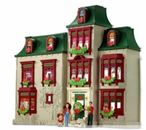 Fisher Price Loving family Exclusive Holiday Dollhouse - click to enlarge