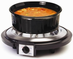 Maxi-Matic Elite Cuisine Single Burner 750-Watt Hot Plate - click to enlarge