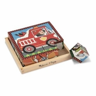 Melissa and Doug Vehicles Cube Puzzle - click to enlarge