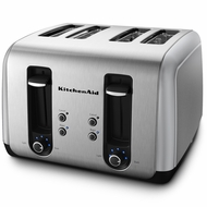 KitchenAid KMT411 4-slice toaster - click to enlarge