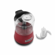 KitchenAid KFC3511ER Food Chopper, 3.5 cup - Empire Red
