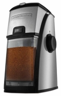 Black & Decker CBM210 Stainless Steel Burr Coffee Mill/Grinder - click to enlarge