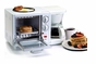 Maxi-Matic EBK-200 Elite Cuisine 3-in-1 Breakfast Station 4-Cup Coffee Maker White