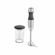KitchenAid KHB1231CU Hand Blender, Silver