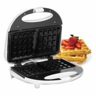 Maxi-Matic EWM-9008K Elite Cuisine Waffle Maker with Non-Stick White - click to enlarge