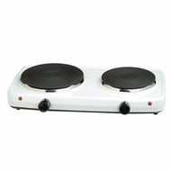 Maxi-Matic Elite Cuisine Double Flat Burner Hot Plate - click to enlarge
