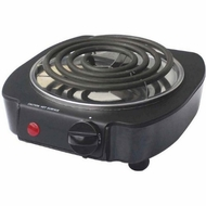 Bene Casa 93525 Single Coil Burner Black - click to enlarge
