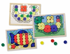 Melissa and Doug #4313 Sort and Snap Color Match - click to enlarge