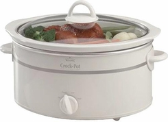 Rival SCV551KW 5.5 Quart CrockPot Slow Cooker - click to enlarge