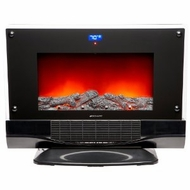 Bionaire BFH5000-UM Electric Fireplace Heater with Remote Control - click to enlarge