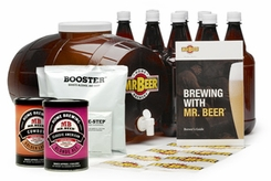 Mr.Beer 20635 Premium Gold Edition Beer Kit - click to enlarge