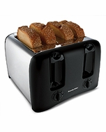 Proctor Silex 24608Y 4 Slice Cool-Wall Toaster - click to enlarge